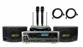 BMB CSN-500 with Acesonic AM-450 Mixing Amplifier and Wireless Mic System