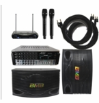 BMB CSN-500 with AKJ7405 Mixing Amplifier and Acesonic Wireless Mic System