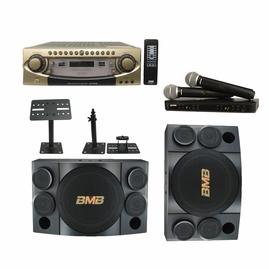 BMB DAR-800II Amplifier & CSE-312 Speaker Package