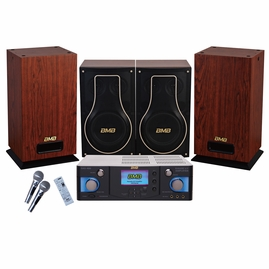 BMB Premium Package 600W Amplifier with Vocal Speakers & Subwoofer