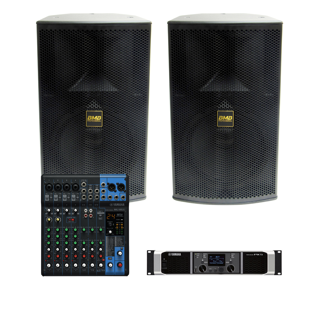 bmb yamaha 1 000w sound system with mg10xu mixer uses