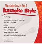 Daywind Karaoke CDG - Worship Greats Vol. 1