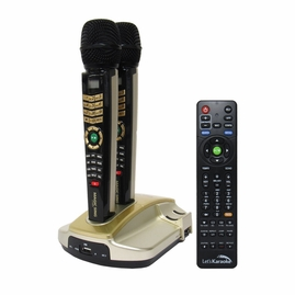 EnterTech MagicSing ET-23KH HD Wireless Microphone Karaoke System (English)