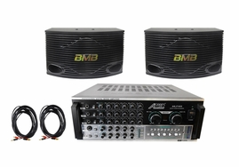 BMB CSN-500 with Audio 2000's AKJ7405 Mixing Amplifier System