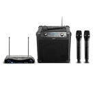 Ion Audio Tailgater iPA77 Portable Speaker with Dual Wireless Mics