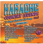 Karaoke Cloud CDG Country Legends Vol. 1