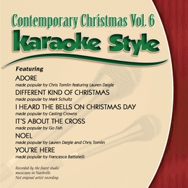 Daywind Karaoke Style CDG #0573 - Contemporary Christmas, Vol. 6