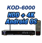 KOD-6000 Pro Chinese Karaoke Android 4K UHD Jukebox System