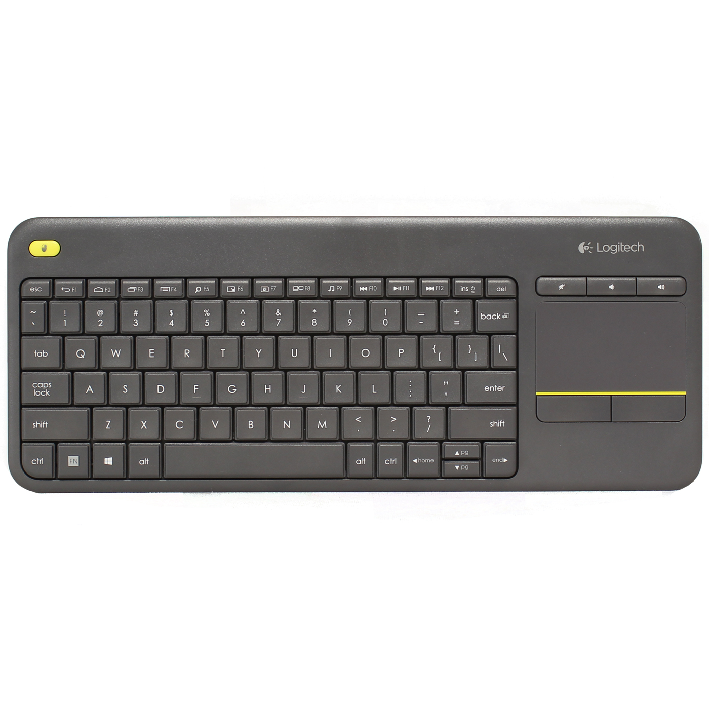 Logitech K400 Plus Wireless Touch Keyboard bfc699deb2efc