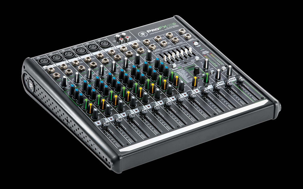 mackie profx12v2 12 channel professional effects mixer. Black Bedroom Furniture Sets. Home Design Ideas