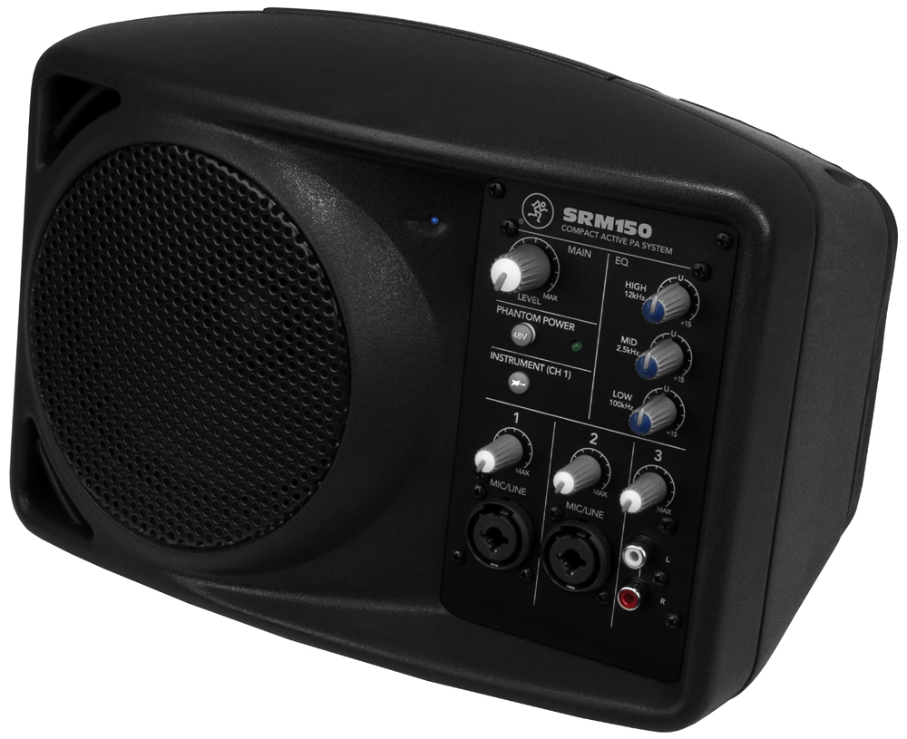mackie srm150 compact powered pa speaker. Black Bedroom Furniture Sets. Home Design Ideas