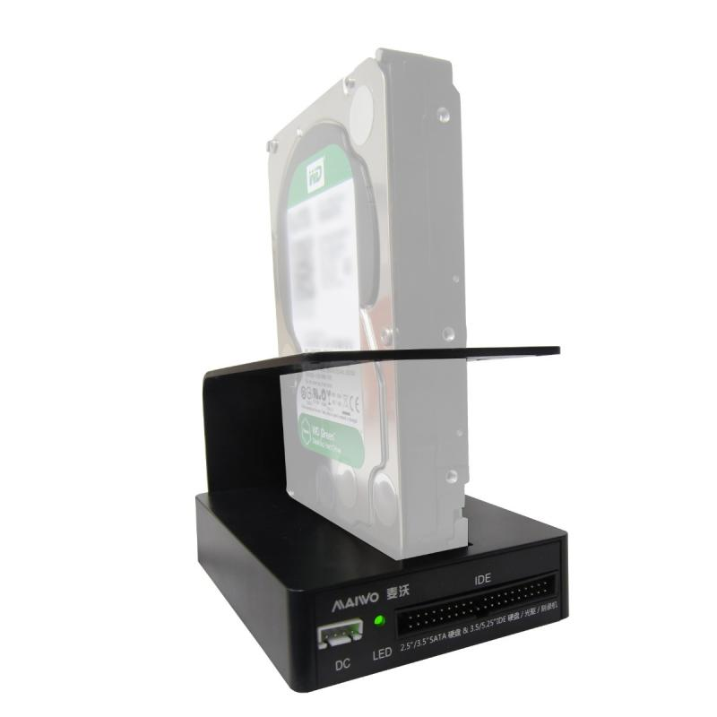 maiwo k303u3is usb 3 0 sata ide 2 5 3 5 hdd docking station. Black Bedroom Furniture Sets. Home Design Ideas