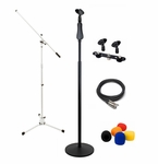 Microphone Cables, Stands & Accessories