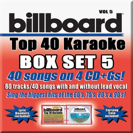 Party Tyme Karaoke CDG SYB4475 - Billboard Top 40 Vol.5