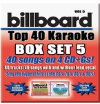 Party Tyme  Billboard Top 40 Karaoke CDG Vol. 5