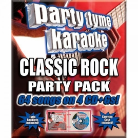 Party Tyme Karaoke CDG SYB4484 - Classic Rock Party Pack