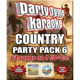 Party Tyme Karaoke CDG SYB4483 - Country Party Pack 6