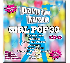 Party Tyme Karaoke CDG SYB1699EG - Girl Pop 30