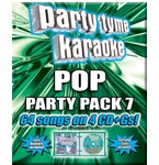 Party Tyme Karaoke CDG Pop Party Pack 7