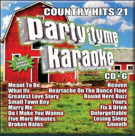 Party Tyme Karaoke CDG SYB1139 - Country Hits 21