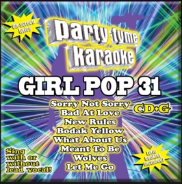 Party Tyme Karaoke CDG SYB1702 - Girl Pop 31