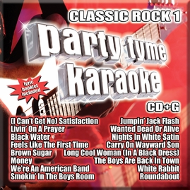 Party Tyme Karaoke CDG SYB1131 Classic Rock 1