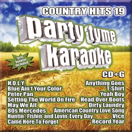 Party Tyme Karaoke CDG SYB1132 - Country Hits 19