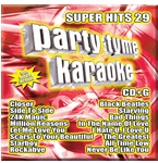 Party Tyme Karaoke CDG SYB1134 - Super Hits 29