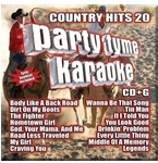 Party Tyme Karaoke CDG SYB1135EG - Country Hits 20
