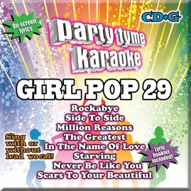 Party Tyme Karaoke CDG SYB1697 - Girl Pop 29