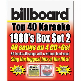 Party Tyme Karaoke CDG SYB4486 - 1980's Billboard Top 40 Box Set 2