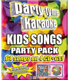 Party Tyme Karaoke CDG SYB4487 - Kids Songs Party Pack