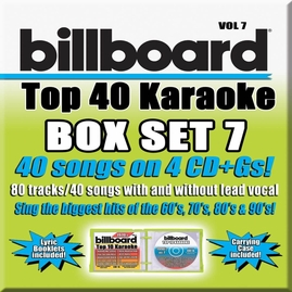 Party Tyme Karaoke CDG SYB4480 - Billboard Top 40 Vol.7