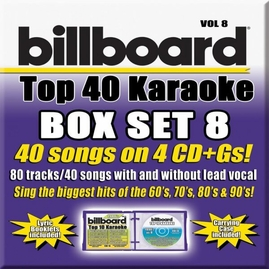 Party Tyme Karaoke CDG SYB4481 - Billboard Top 40 Vol.8