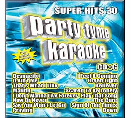Party Tyme Karaoke CDG SYB1136 - Super Hits 30