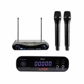 Platinum Karaoke SD Player SD-40 Piano Tagalog with Acesonic UHF 200 Dual Wireless Microphone
