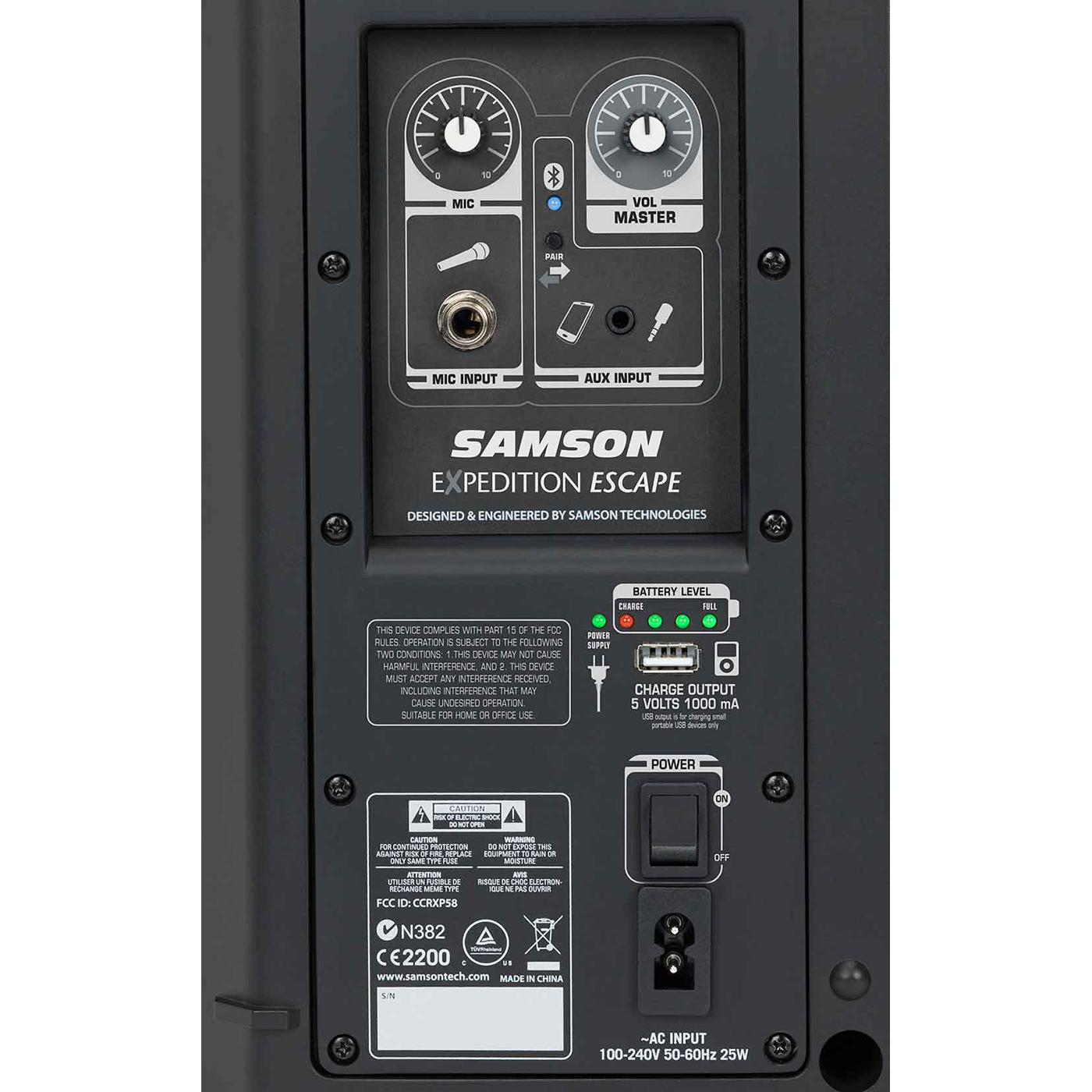 Samson Expedition Escape Rechargeable Speaker System With