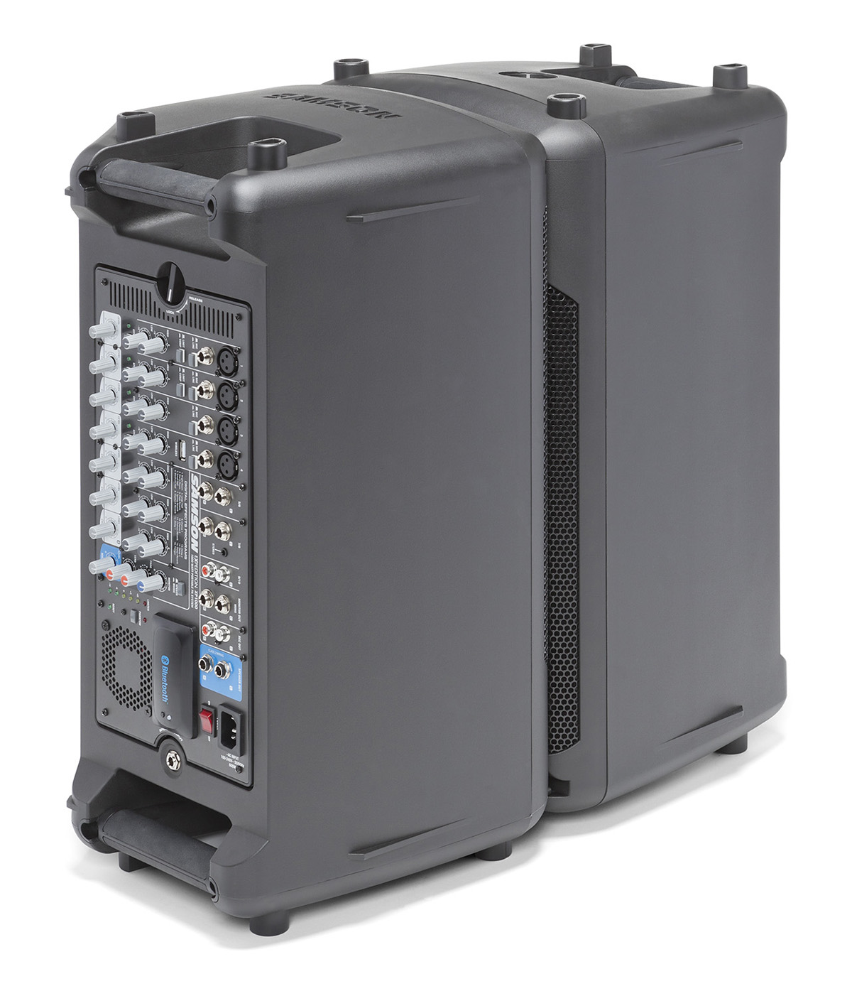 samson expedition xp1000 portable pa system with bluetooth 1000 watt. Black Bedroom Furniture Sets. Home Design Ideas
