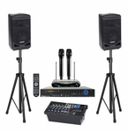 Samson Expedition XP800 + Acesonic BDK-2000 Karaoke System