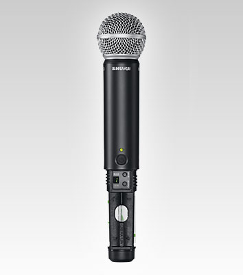 shure blx288 pg58 wireless microphone package with boom stand accessories. Black Bedroom Furniture Sets. Home Design Ideas