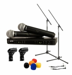 Shure BLX288/PG58 Wireless Microphone Package