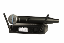 Shure GLXD24/B58 Digital Handheld Wireless System (2.4 GHz)