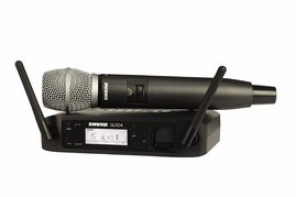 Shure GLXD24/SM86 Handheld Wireless System