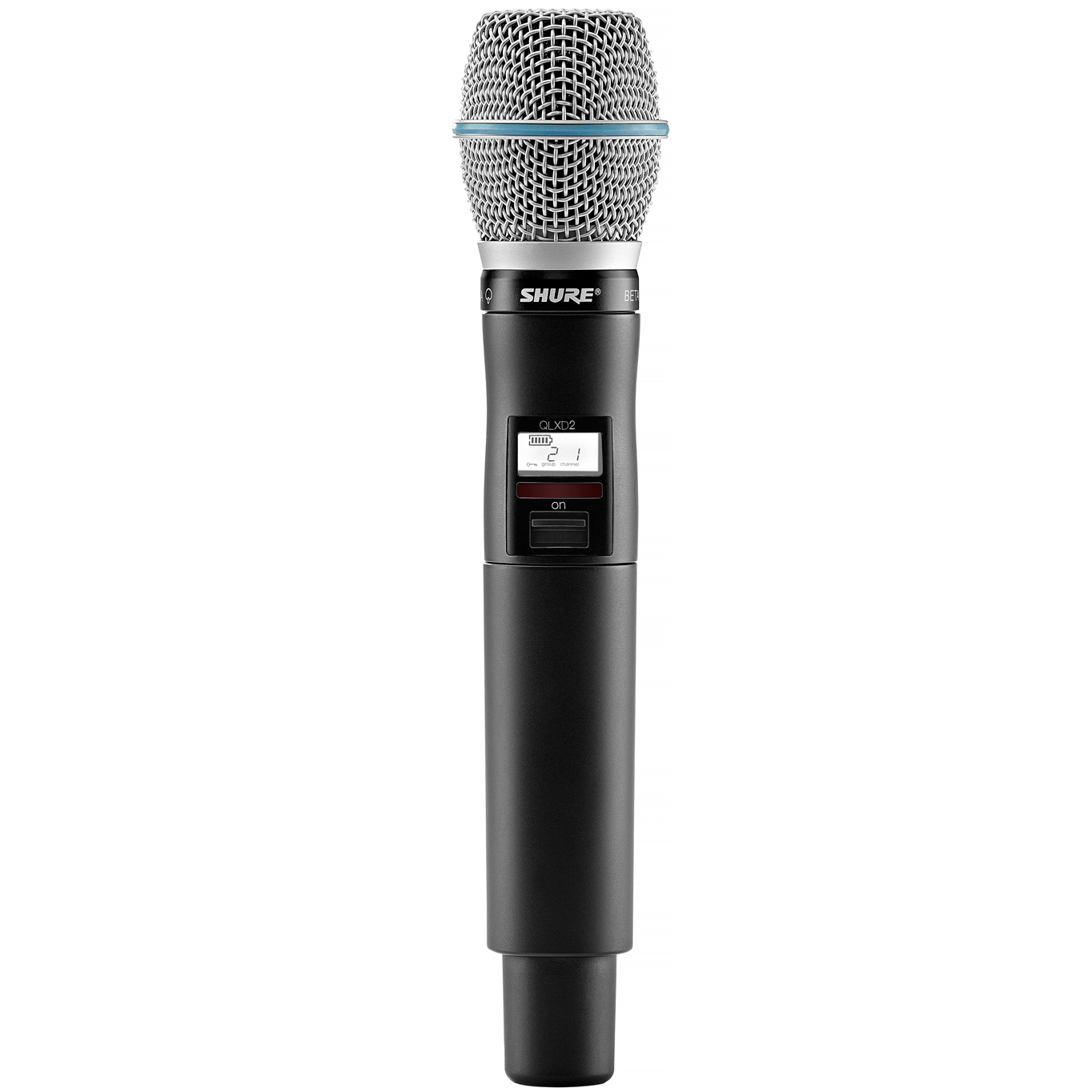 shure qlxd24 b87a handheld wireless microphone system. Black Bedroom Furniture Sets. Home Design Ideas