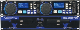 VocoPro CDG-8900 PRO Dual Tray CD/CD+G Karaoke Player