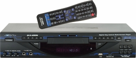 Vocopro DVX-890K Multi-Format DVD/DivX Karaoke Player with USB, SD, HDMI, and Digital Key Control