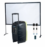 VocoPro K-CAST Portable PA with LED Video Projector