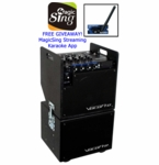 VocoPro MOBILEMAN-BT PA System with Subwoofer & Bluetooth
