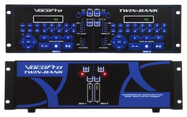 Vocopro TWIN-BANK Pro Multi-Format Dual Hard Drive Player