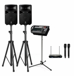 Yamaha STAGEPAS 600i 680W PA System with Stands
